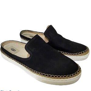 UGG Caleel Slip-On Espadrille-Inspired Sneakers 9